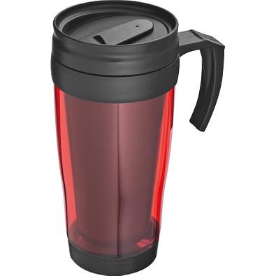 Trinkbecher aus Kunststoff, 400 ml, rot