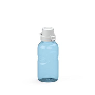 """Trinkflasche Carve """"School"""" Colour 0,5 l, transparent-blau"""