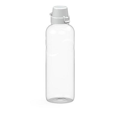"Trinkflasche Carve ""School"" klar-transparent 1,0 l, transparent"