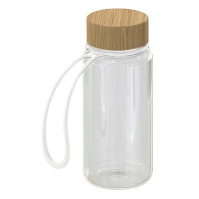 Trinkflasche Natural, inkl. Strap, 700 ml, transparent