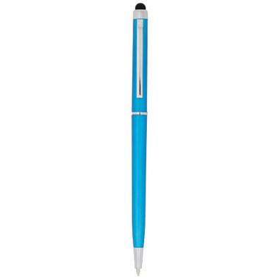 Valeria ABS Kugelschreiber mit Stylus, royalblau