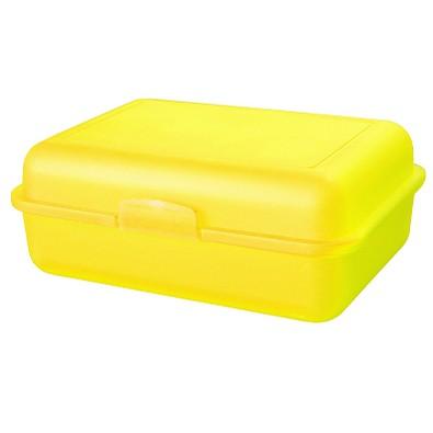 Snack-Box groß, trend-gelb